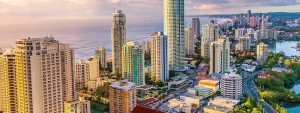 beautiful view of Gold Coast Suburb